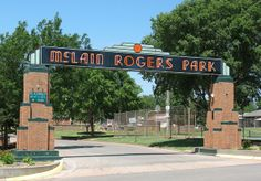 Mc Lain Rogers Park Clinton OK - Family outings and reunions