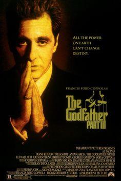 Godfather III (Al Pacino modlitwa) - plakat Andy Garcia, Film 1990, 1990 Movies, Good Movies, Al Pacino, Talia Shire, Bridget Fonda, Films Cinema, Cinema Posters