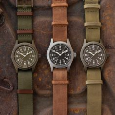 The Hamilton Khaki Field Mechanical is known as the original soldier's watch and it has been tested by the best, time and again.