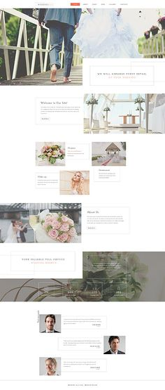 Wedding Agency Website #Joomla #template. #themes #business #responsive #Joomlathemes