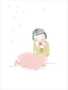 My Lovely Thing - JoliePoupée - Illustration en exclusivité pour L'Affiche Moderne