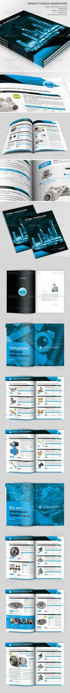 12$ Product Catalog or Brochure - Catalogs Brochures