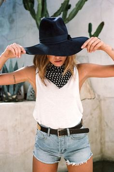 A Crazy Cool Western-Inspired Look For Summer