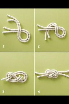 Nautical knot tutorial DIY by Juca