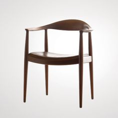 Hans Wegner - Round Chair. The chair rose to stardom when used in the televised presidential debates between Nixon and Kennedy in 1960 and has since been known simply as 'the chair'.