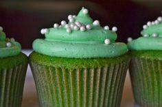 St Patrick's Day Small Batch Cupcake Recipe - makes 6