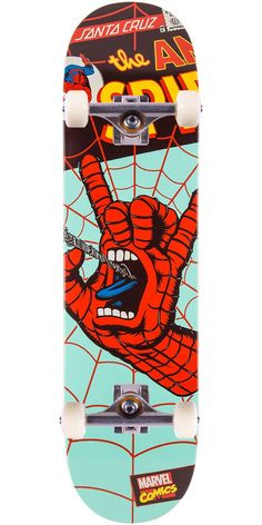 Santa Cruz Skate Boards – Marvel Inspired Screaming Hands