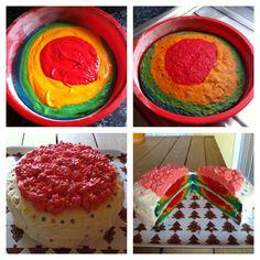 Rainbow cake :-)