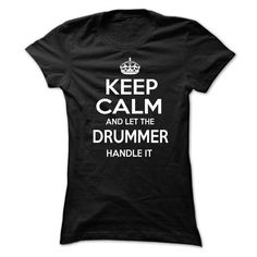Drummer T Shirts, Hoodies. Check Price ==► https://www.sunfrog.com/LifeStyle/Drummer-75982424-Ladies.html?41382 $22