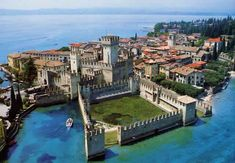 Sirmione, Lake Garda. Been here before, it's in Italy :)