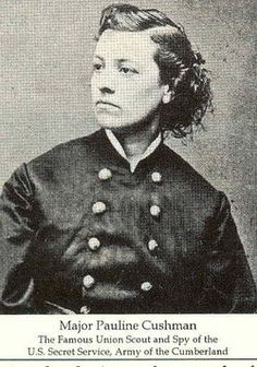 Pauline Cushman - Union Scout and spy for US Secret Service during Civil War