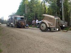 Auto repair tips Rv Truck, Big Rig Trucks, Old Trucks, Semi Trucks, Kenworth Trucks, Peterbilt, Funny Accidents, Benne, Heavy Truck