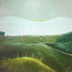 Irish Landscape, Landscape Art, Landscape Paintings, Landscapes, Original Art, Original Paintings, Winter Mountain, Connemara, Buy Art