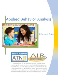 FREE Downloadable Toolkit On Applied Behavior Analysis (ABA) For Autism - AutismBeacon