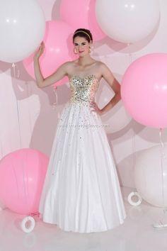 Looks like the prettiest prom dress ever.