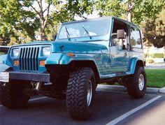 Jeep Wrangler Islander teal - 1991