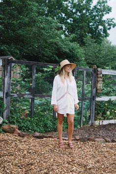 Shop Sustainable Apparel by Lady Farmer Slow Fashion, Industrial Style, Farmer, Panama Hat, Sustainability, Organic Cotton, Tunic, Lady, Beautiful