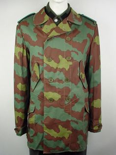 f9095f2bdb3 World War II German mountain troops windproof jacket in Italian camo