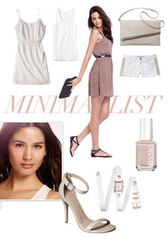 Trend we love: Minimalist - Go luxe in summer neutrals, clean lines, and loose windblown silhouettes.