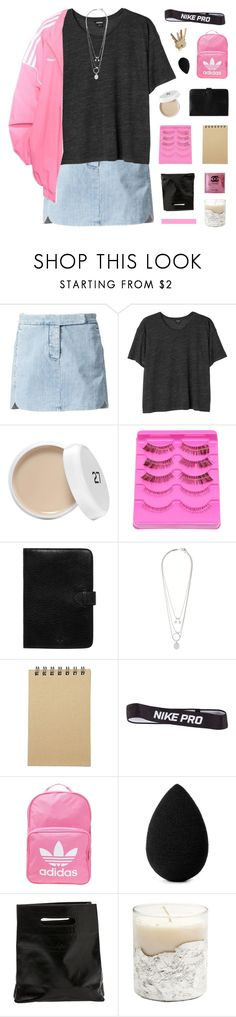 """14 ♡ tell me what you like but it's never gon' change"" by itsfashioninfinity ❤ liked on Polyvore featuring Maison Margiela, Monki, Gosha Rubchinskiy, Mulberry, Muji, NIKE, adidas Originals, beautyblender and Marie Turnor"