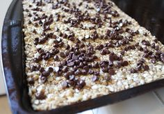 Yummy Healthy Easy: No-Bake Chewy Chocolate Chip Granola Bars