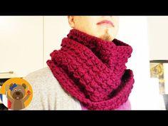 """Crochet Tour de cou """"Snood"""" facile - YouTube"""