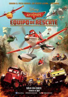 Carátula de Aviones 2 equipo de rescate