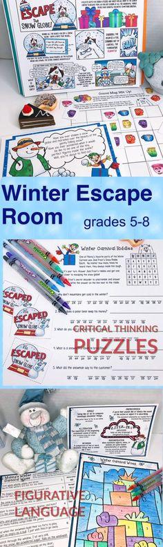 200+ Escape Rooms in the ELA Classroom ideas in 2020 ...