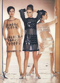 1966 YSL transparent dress www.fashion.net