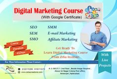 Are you Planning to Learn Digital Marketing Course, with Google Certification, Zeba Institute Providing Independence Day Special Offer, 20%OFF on All Courses, Hurry up!!...:) 100% job Assistance with Live Projects,and internship certificate Also Provides by Company for Eligible Students. http://www.zebacreations.com/register.html