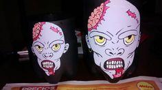 Zombies 1 en botella plástica.