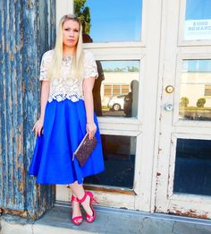 Lizzie In Lace: Crushing on Cobalt
