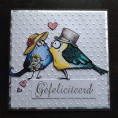 Huwelijkskaart / eigen creaties
