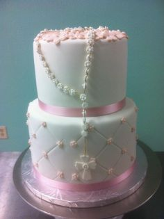 Communion Cake  www.sweetnessbakeshop.net  facebook.com/sweetnessbakeshop