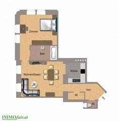 Elegant sanierte Eigentumswohnungen in 1090 Wien bei IMMOfair Usb Flash Drive, Floor Plans, Condominium, Real Estates, Projects, Homes, Floor Plan Drawing, House Floor Plans, Usb Drive