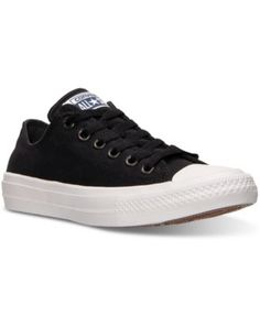 Converse Women's Chuck Taylor All Star II Ox Casual Sneakers from Finish Line | macys.com