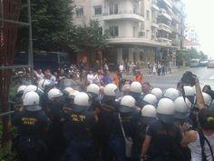 Ένταση και ξύλο στην Gay pride στην Θεσσαλονίκη! (Video)