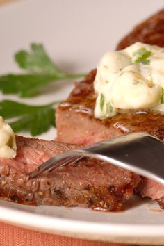 Sirloin Steak with Garlic Butter Recipe