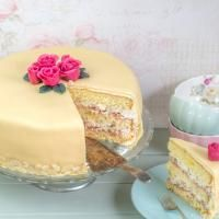 Wunderkuchen - perfekter Untergrund für Fondantdecken