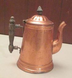 Vintage Antique Copper Kettle $9.99