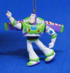 Buzz Lightyear from Disney Pixar TOY STORY Storybook Ornament Christmas  Figurine 1aa93373480