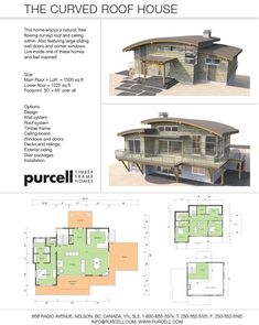 Purcell Timber Frames - Home Packages - The Curved Roof House