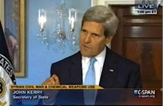 WATCH: John Kerry's Full Statement Making Case for Syria Strike
