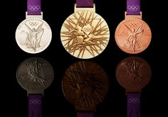 The London 2012 Olympic medals. [Twitter / London2012]