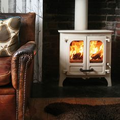 Charnwood Island I Multifuel Stove From Fireplace Products
