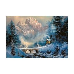Home & Garden Bridge River Scenery Cabin Painting Counted Printed On Canvas Dmc 11ct 14ct Kits Chinese Cross Stitch Embroidery Needlework Sets Sufficient Supply