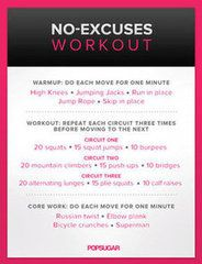 No-Excuses Workout fashion only looks good if you do too! (I hate to workout...)
