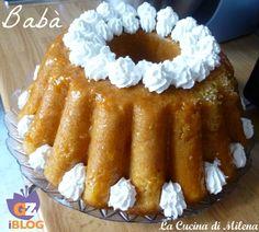 """A Napoli, quando un dolce è veramente buono si dice:""""stu dolce pò ghì annanz' 'o rre!"""" ( questo dolce può andare davanti al re!). Il babà non solo è stato mangiato da un re,ma da egli stesso creato. La forma classica del babà è quella canonica a """"fungo"""" di varie misure,oppure ci sono le torte babà a forma di ciambella guarnite con panna montata o crema pasticcera o cioccolato. http://blog.giallozafferano.it/lacucinadimilena/baba/"""