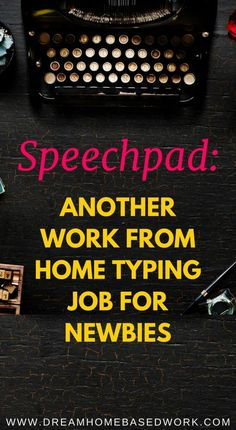 Speechpad is a legitimate transcription website that recruits freelancers to make money typing online. If you are in need of a beginner typing job, Speechpad is the perfect opportunity. Online Jobs From Home, Work From Home Jobs, Online Work, Earn Money From Home, Earn Money Online, Way To Make Money, Online Income, Online Cash, Online Earning
