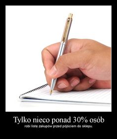 A szkoda. Zrobienie listy to klucz do oszczędności. Chroni przed nieprzemyślanymi zakupami. :)
